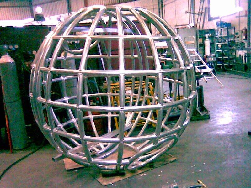 Truss en esfera