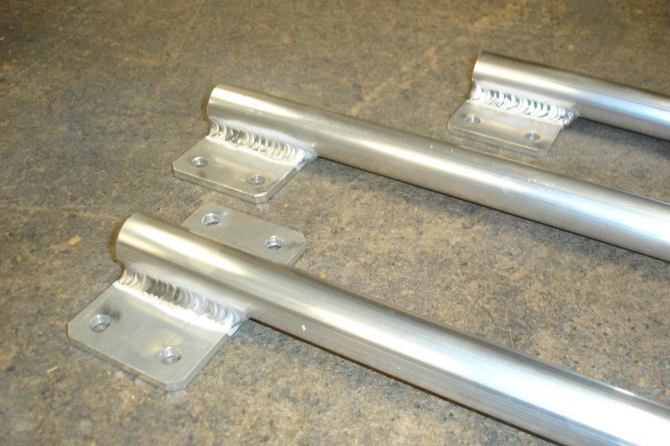 Fabricación por soldadura de piezas de aluminio