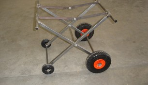 Carrito con ruedas plegable