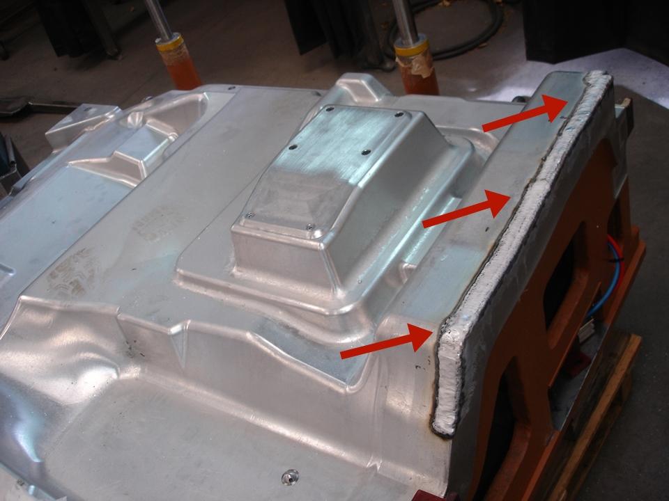Soldadura de moldes de inyección
