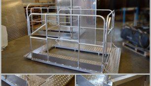 Fabricación de estructuras metálicas. Estructura metálica aluminio.