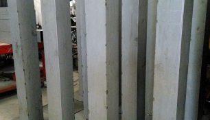 Pilares de chapa