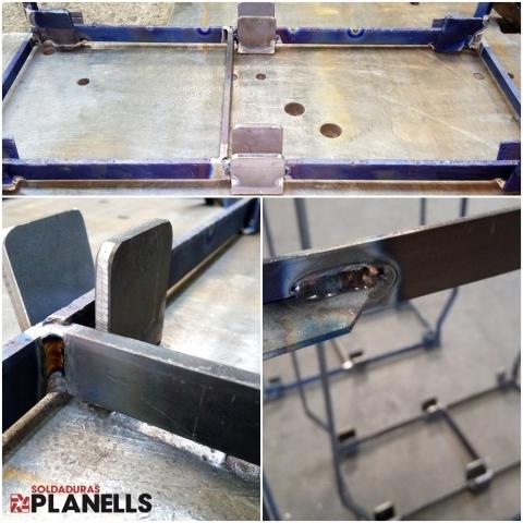 Soldadura de titanio (Reparación)