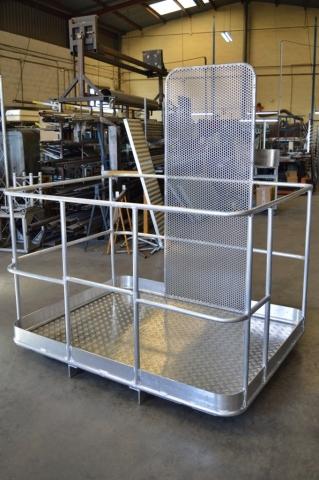 Estructura en aluminio