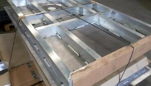 Placa de aluminio reforzada