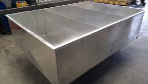 Tanque de agua aluminio