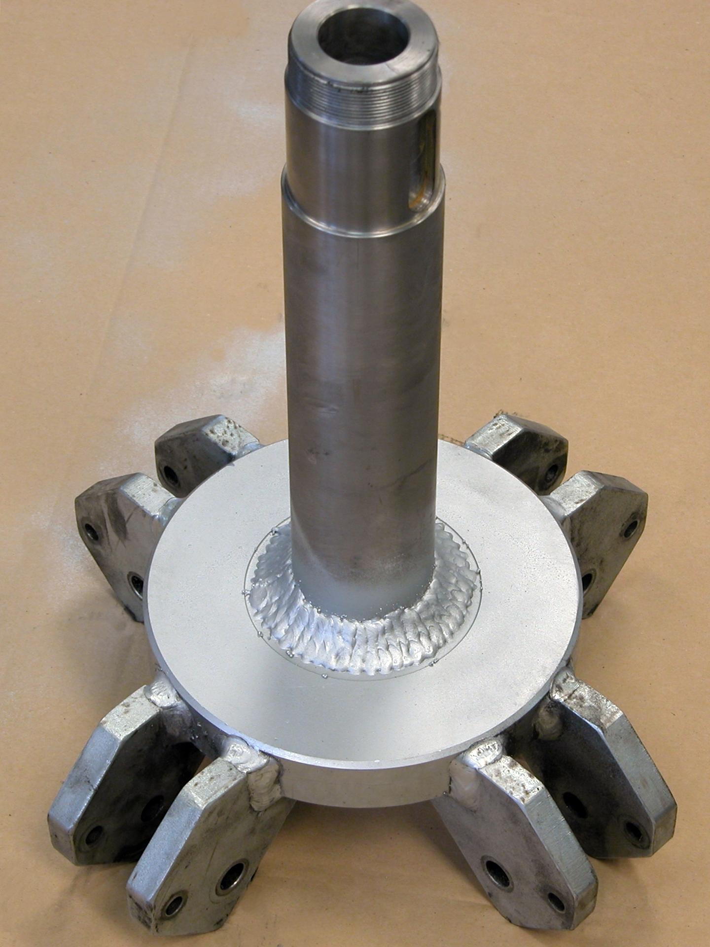 Fabricación por soldadura de piezas industriales por soldadura