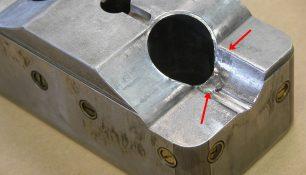Micro TIG en moldes de inyección, exento de poros 2