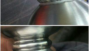 Fabricación por soldadura de aluminio repasada