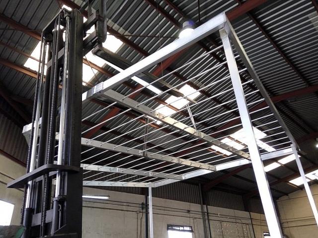 Pérgola de aluminio desmontable