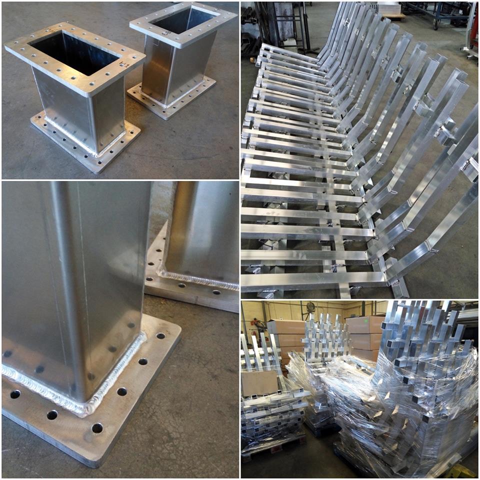 Varios soldadura de aluminio