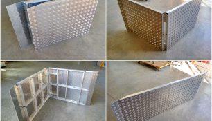 Rampa plegable a medida aluminio