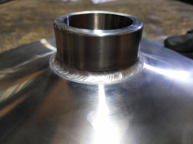 Soldadura de acero inoxidable AISI316